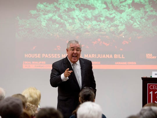 Attorney John Morgan speaks in favor of Amendment 2