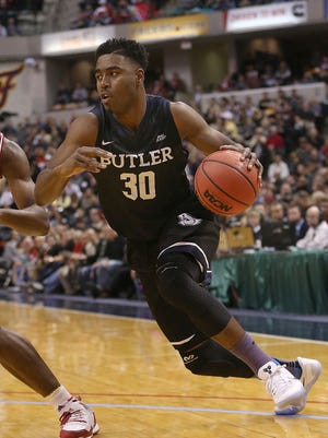 Butler's Kelan Martin was named Big East Player of the Week after dropping 28 on Indiana at Saturday's Crossroads Classic.