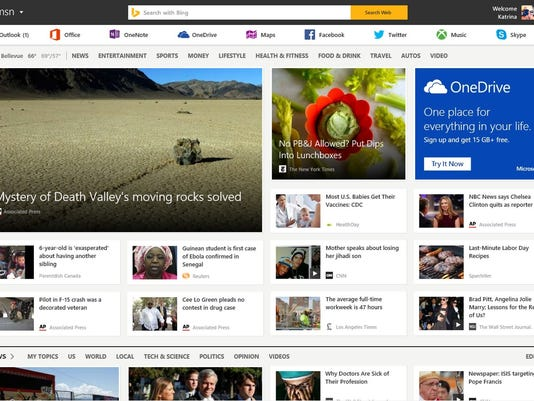 Microsoft Revamped MSN