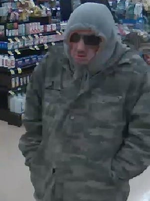 Pictured is the man whom the FBI says robbed the SunTrust Bank in Northeast Knox County on March 5, 2018.