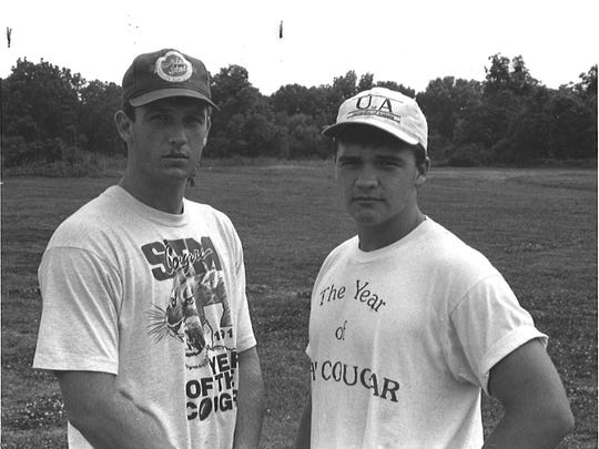 "The brother combination of Jamie and Patrick ""Putt"" Howard played a huge role in St. Thomas More's 1992 state baseball championship."