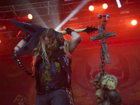 Black Label Society at the Eurockeennes music festival