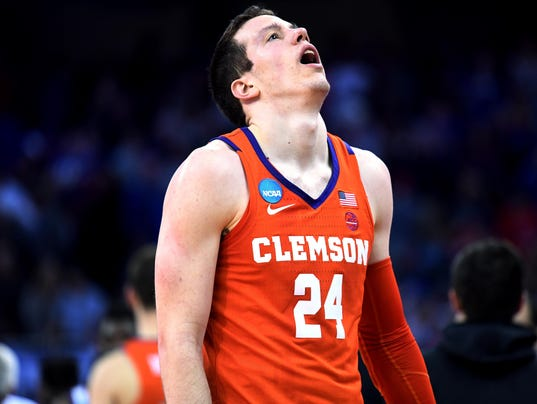 NCAA Basketball: NCAA Tournament-Midwest Regional-Clemson vs Kansas