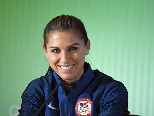 Alex Morgan Shooting 2016