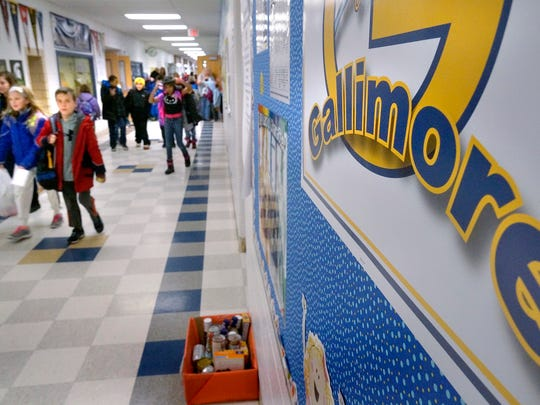 Gallimore Elementary School was one of 13 Michigan