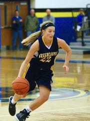 Greencastle-Antrim's Lydia Crist is one of the underclassman
