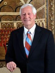 Belmont President Dr. Bob Fisher Monday Feb. 12, 2018,