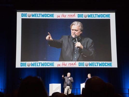 EPA SWITZERLAND STEVE BANNON SPEECH HUM PEOPLE SCH