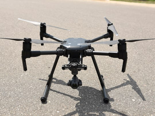 The matrice 200 drone that retails for $7,000 new.