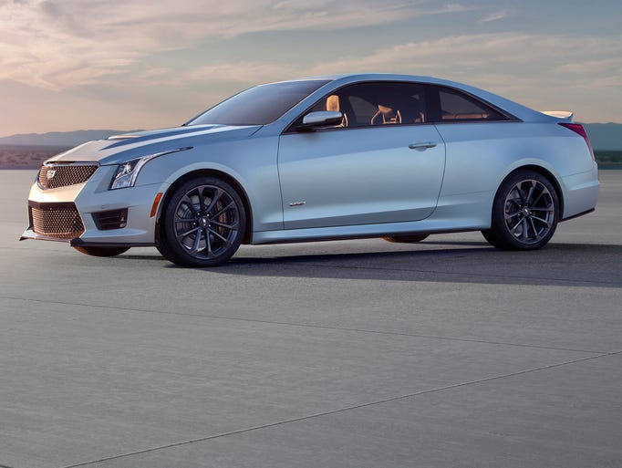 The Cadillac ATS-V Coupe arrives track-capable from