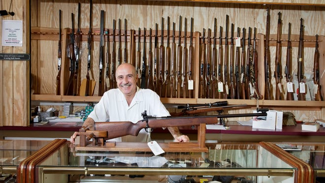 Background checks, required for purchases at federally licensed firearm dealers, are not a measure of actual gun sales, but can be used to gauge market demand.