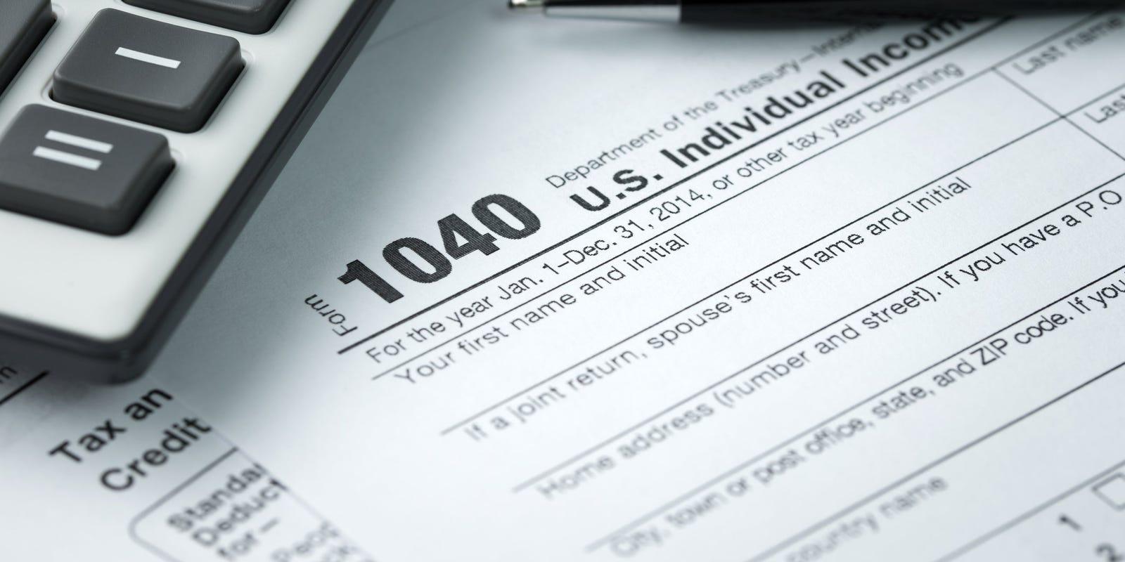 Income Tax Stuff  - cover