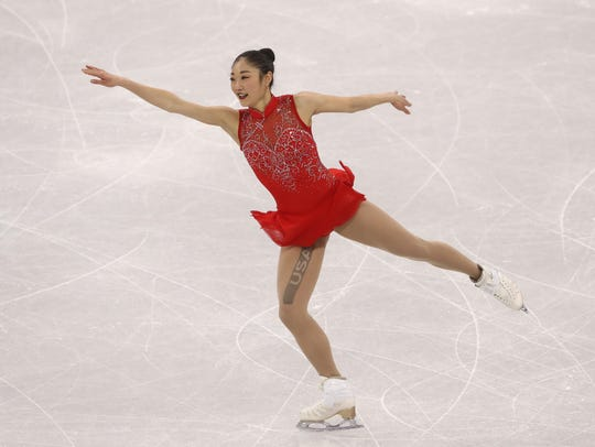 Olympic figure skater Mirai Nagasu was on Team USA