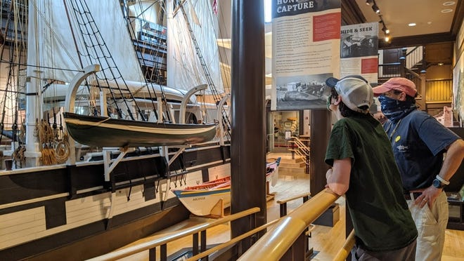 Check out the Lagoda at the Whaling Museum.
