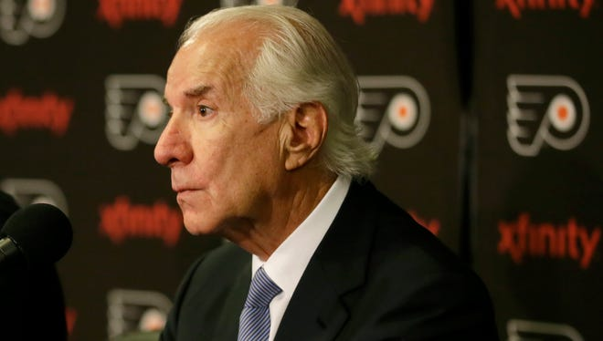 Ed Snider's cancer treatment didn't affect his work with the Flyers or Comcast-Spectacor