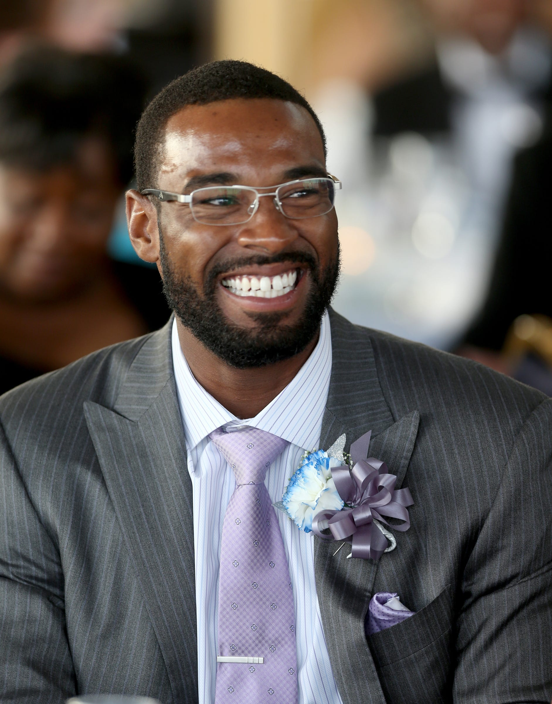 Ex-Lions WR Calvin Johnson is getting married Saturday