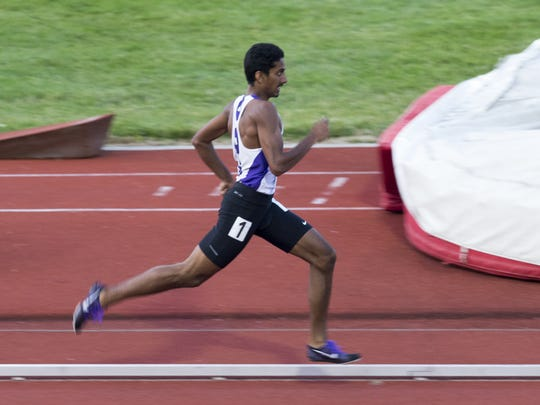 Brownsburg's Hari Sathyamurthy easily won the state title in the 800 meters last year at Indiana University. The senior will take aim at a five-year-old Indiana record at this year's boys track and field state meet.