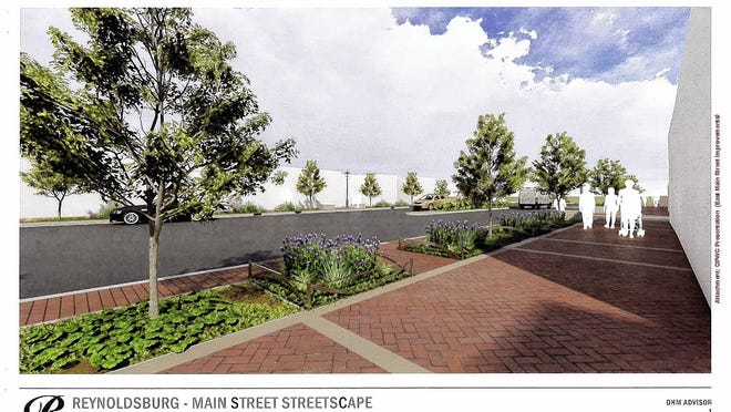 The city of Reynoldsburg is seeking more grant funding to extend the makeover of Main Street. The first phase between Davidson Drive and Jackson Street is expected to begin next year.