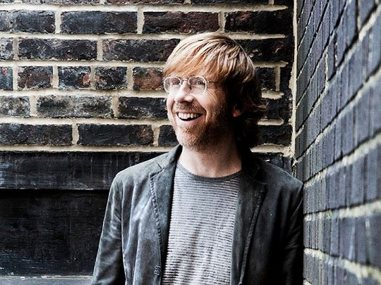 Trey Anastasio will perform May 5 at the Egyptian Room in Old National Centre.