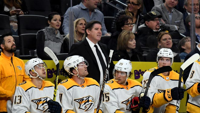 Predators coach Peter Laviolette will guide the Central Division team at the NHL All-Star Game.