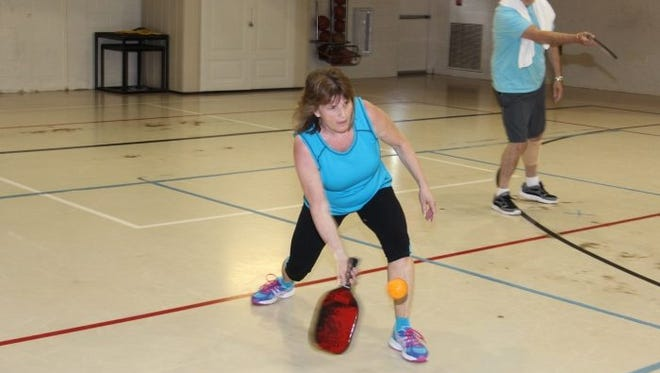 Pickleball players at Freehold YMCA