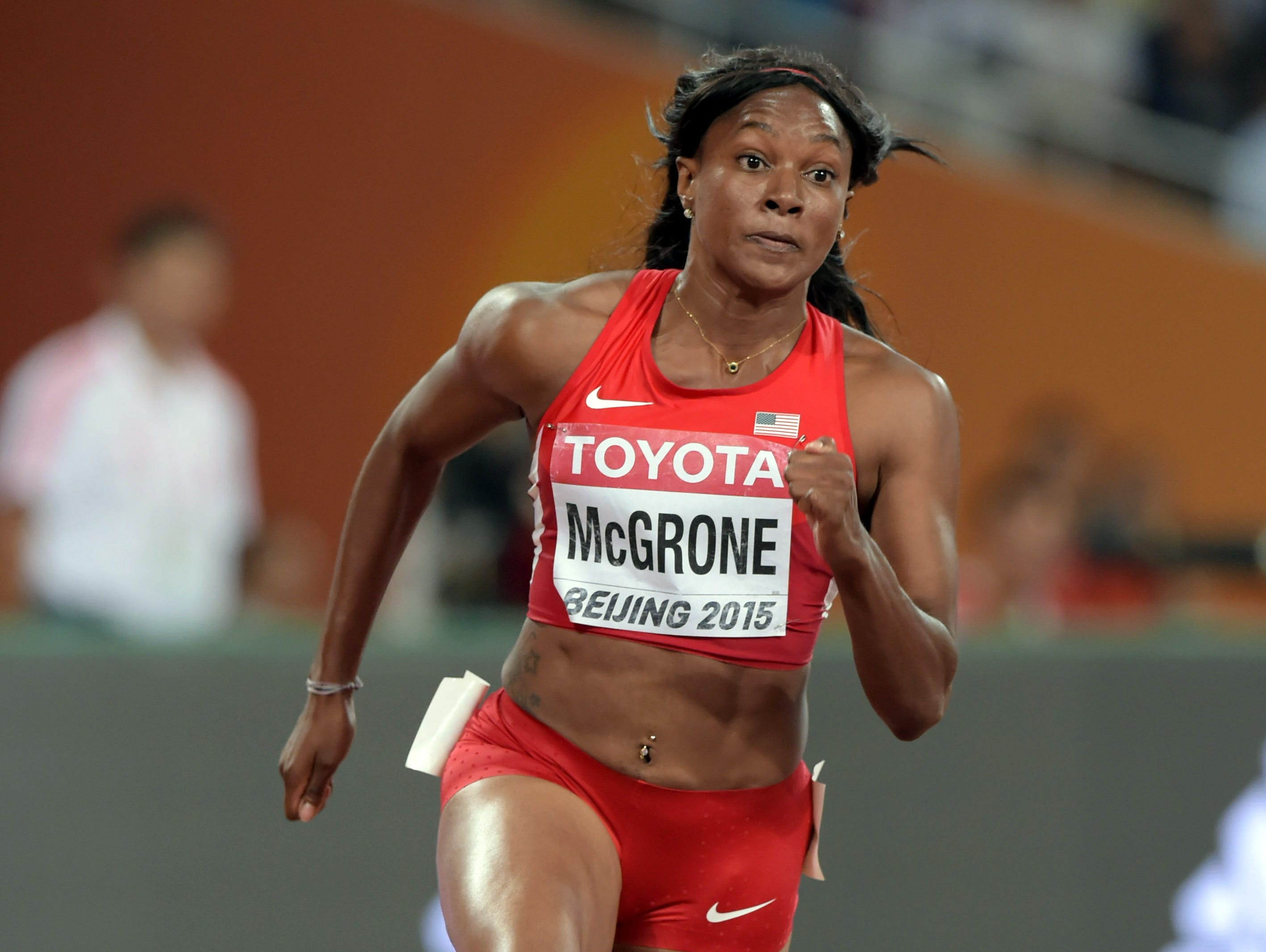 The running career of Candyce McGrone has never followed a smooth path.
