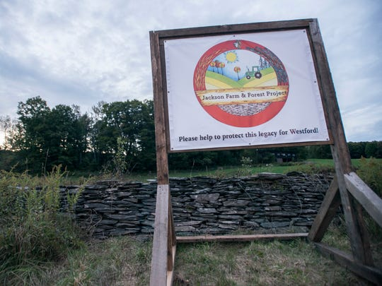 The Jackson Farm and Forest Project Committee hopes to preserve farmland across from the Westward School. The move is up for a vote by the town in November.