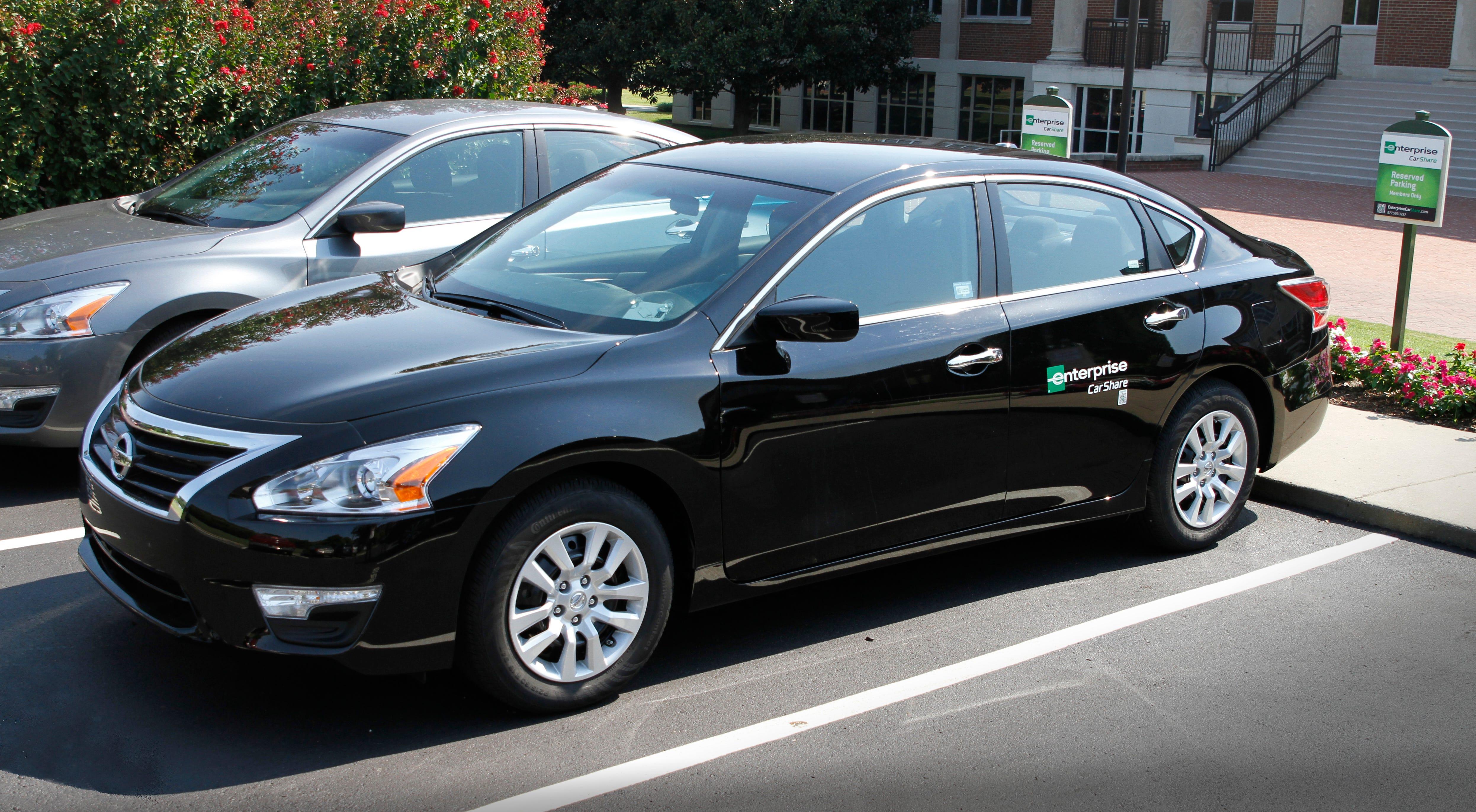 Enterprise Car Rental Courtesy Nissan
