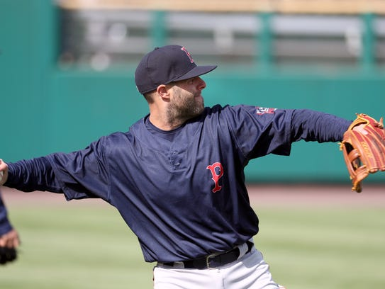 Red Sox star Dustin Pedroia is in Rochester on a rehab