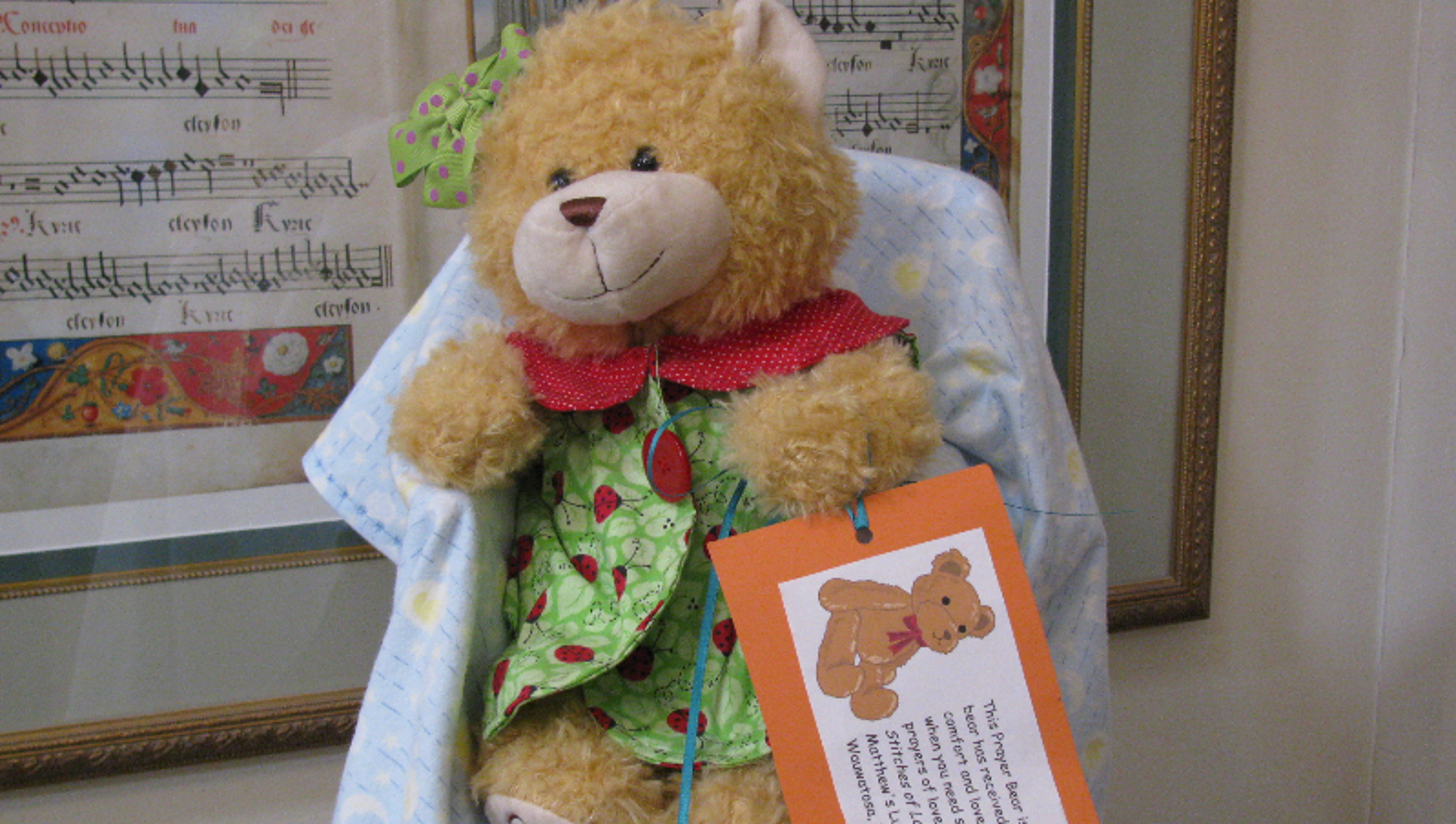 Wauwatosa Ministry Donates Teddy Bears For Children In Crisis