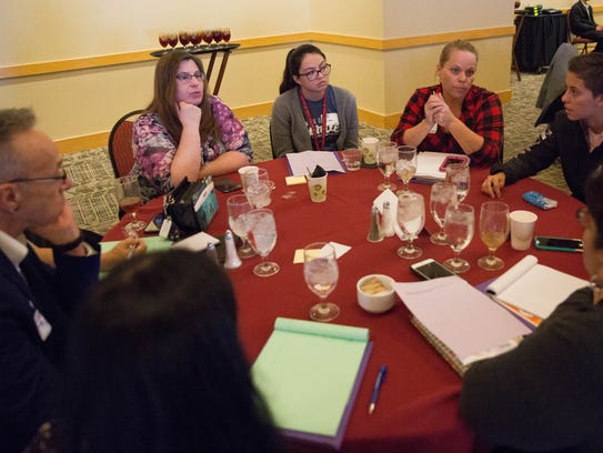 Conference attendees  at the First Southern New Mexico