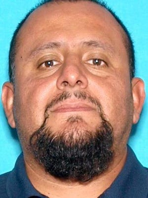 Camarillo police were looking on Friday for Jose Guzman, 43, suspected of killing his wife.