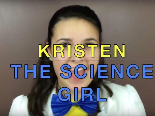 Kristen The Science Girl, Kristen Smith.