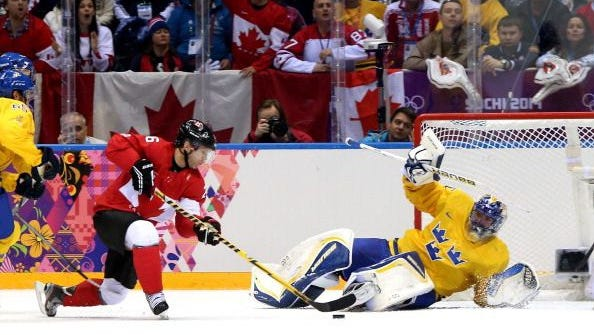 Sweden vs. Canada at the 2014 Sochi Olympics
