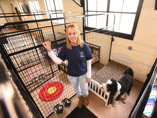 Joan Batstra owns and operates the Winston Pet Hotel.