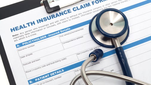 Even when there's good news for health insurance prices, workers still can't catch a break.