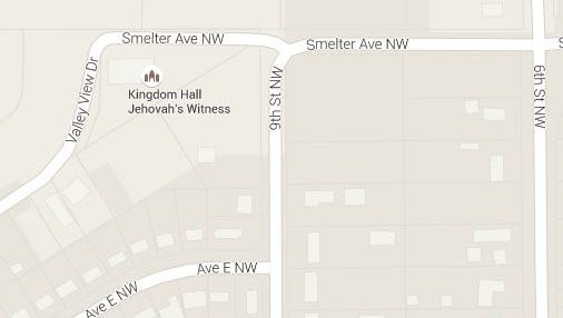 A resodent on Avenue E Northwest reported a lion in the vicinity of the Kingdom Hall on the outskirts of Great Falls.