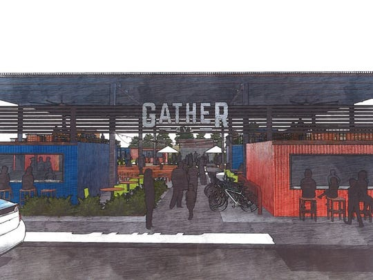 Gather GVL planned at 126 Augusta Street.
