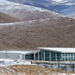 Apple's data center operations facility at the Reno Technology Park just east of the city of Sparks, Nev.