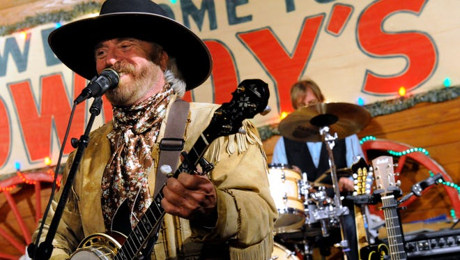 Michael Martin Murphey returns to Pioneer Hall in Anson for the 24th time on Dec. 16 when he plays the Texas Cowboys' Christmas Ball.
