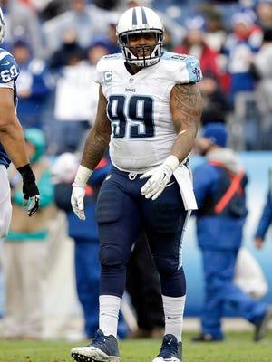 Titans defensive lineman Jurrell Casey.