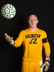 Boys soccer player of the year, Ryan Wilson from Arlington High School.