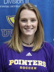 Goalie Sarah Peplinski was a first team selection after