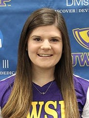 Sophomore Ashley Cohen led UWSP in wins (five), strikeouts
