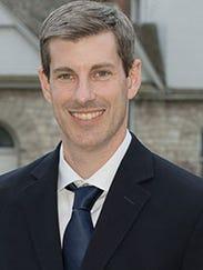 Jason Fitzgerald of Scotch Plains, is the recipient
