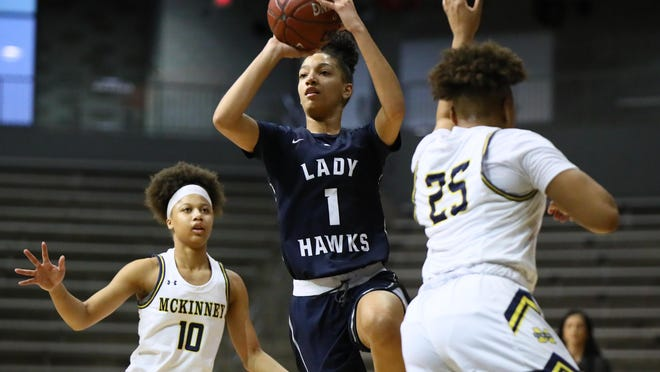 Hendrickson guard Zoe Nelson returns for the Hawks as one of the top two-way players in the Autin area.
