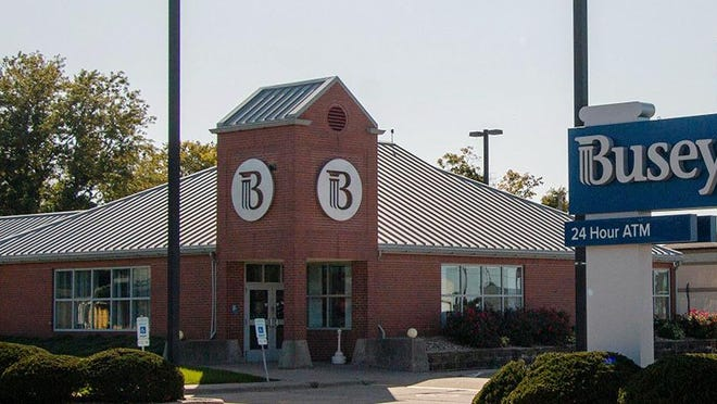 The Busey Bank branch in Bartonville is expected to close in late October, according to the company.