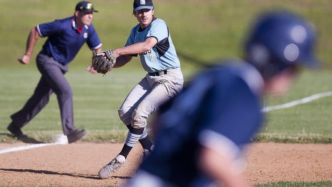 South Burlington Sammy Premsagar, seen in action last spring, helped South Burlington claim a 6-5 walk-off win over St. Johnsbury on Saturday afternoon.