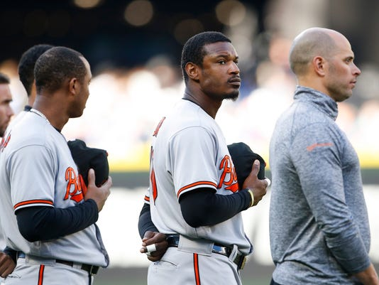 USP MLB: BALTIMORE ORIOLES AT SEATTLE MARINERS S BBA USA WA