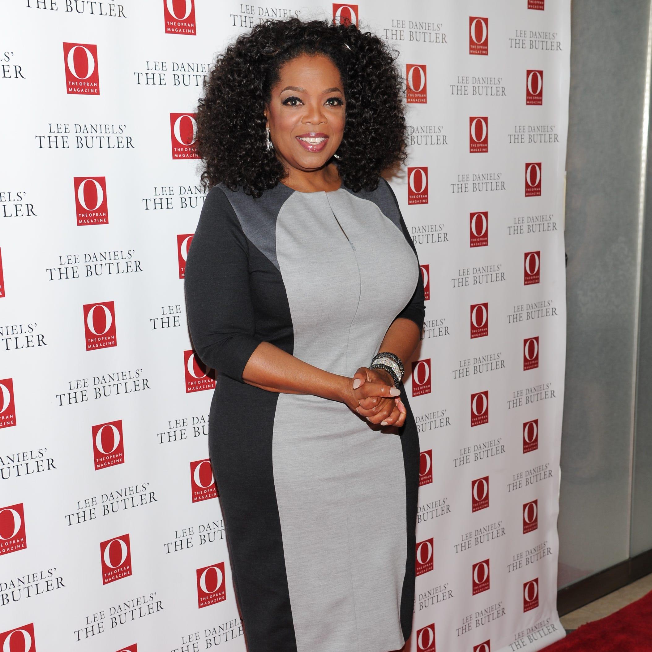 Oprah on July 31 in New York.